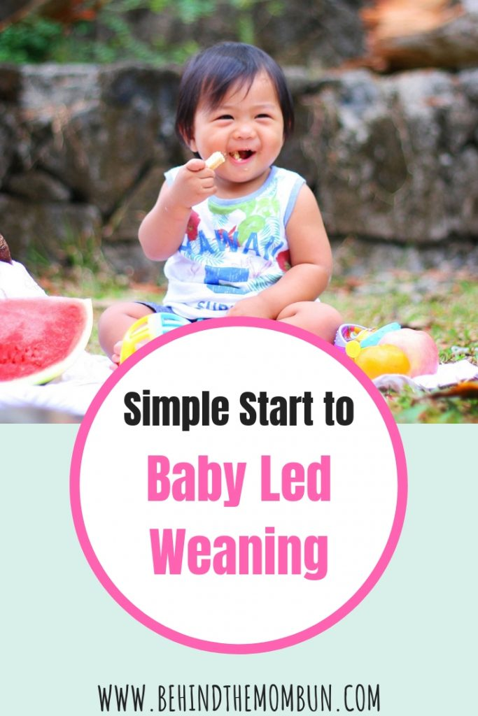 simple start to baby led weaning