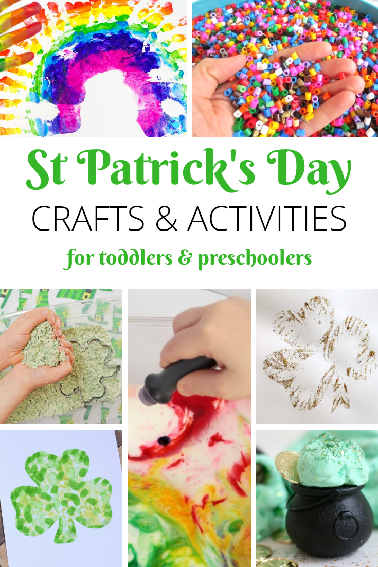 15 St Patrick's Day Crafts To Do With Your Toddler