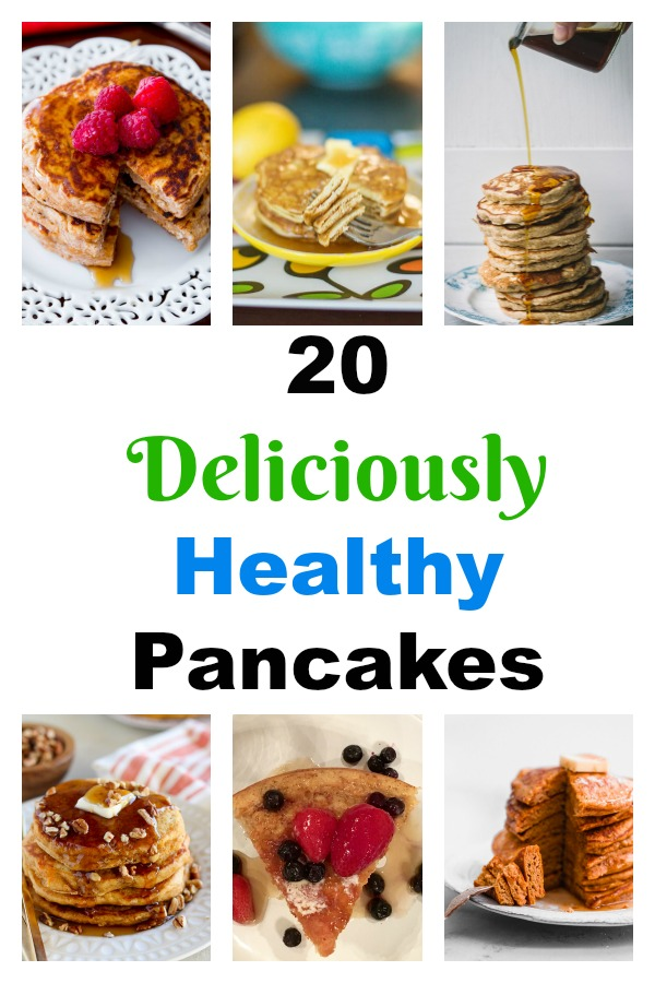 20 Deliciously Healthy Pancakes