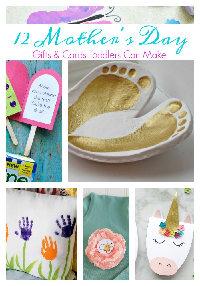 12 Mother's Day Gifts and Cards Toddlers Can Make