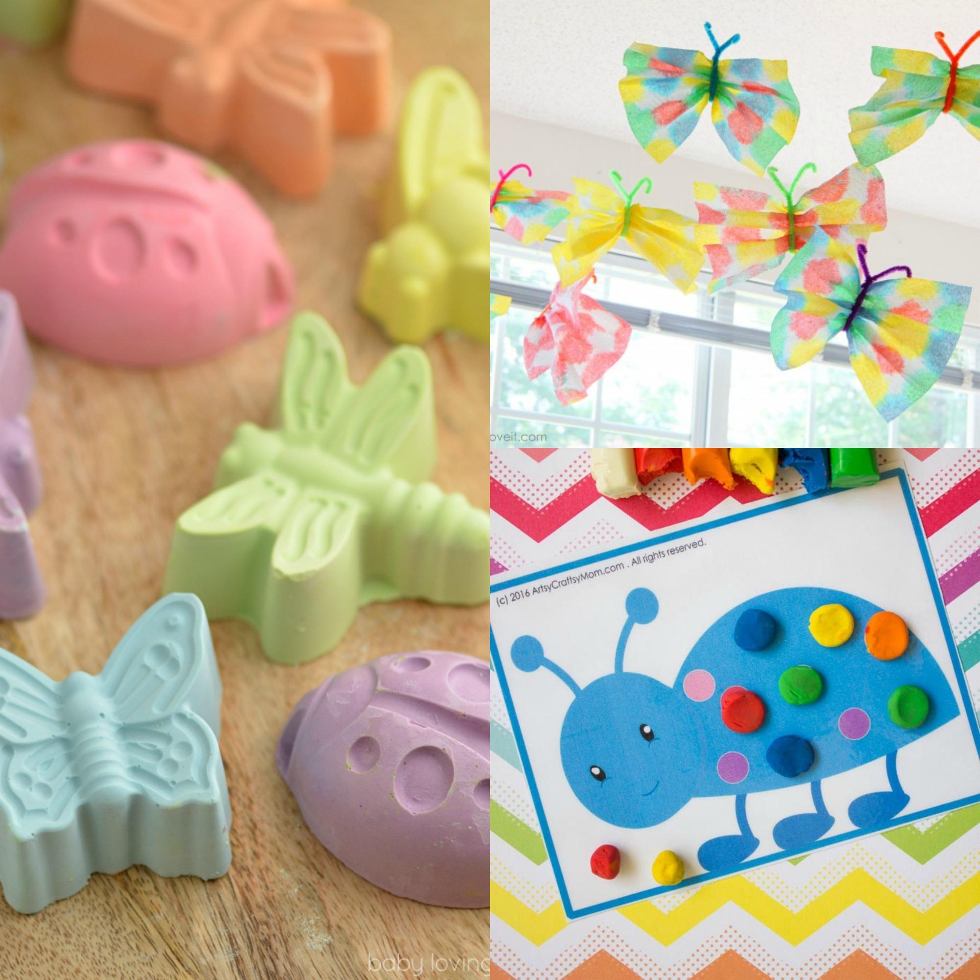 40 Bug Crafts for Kids