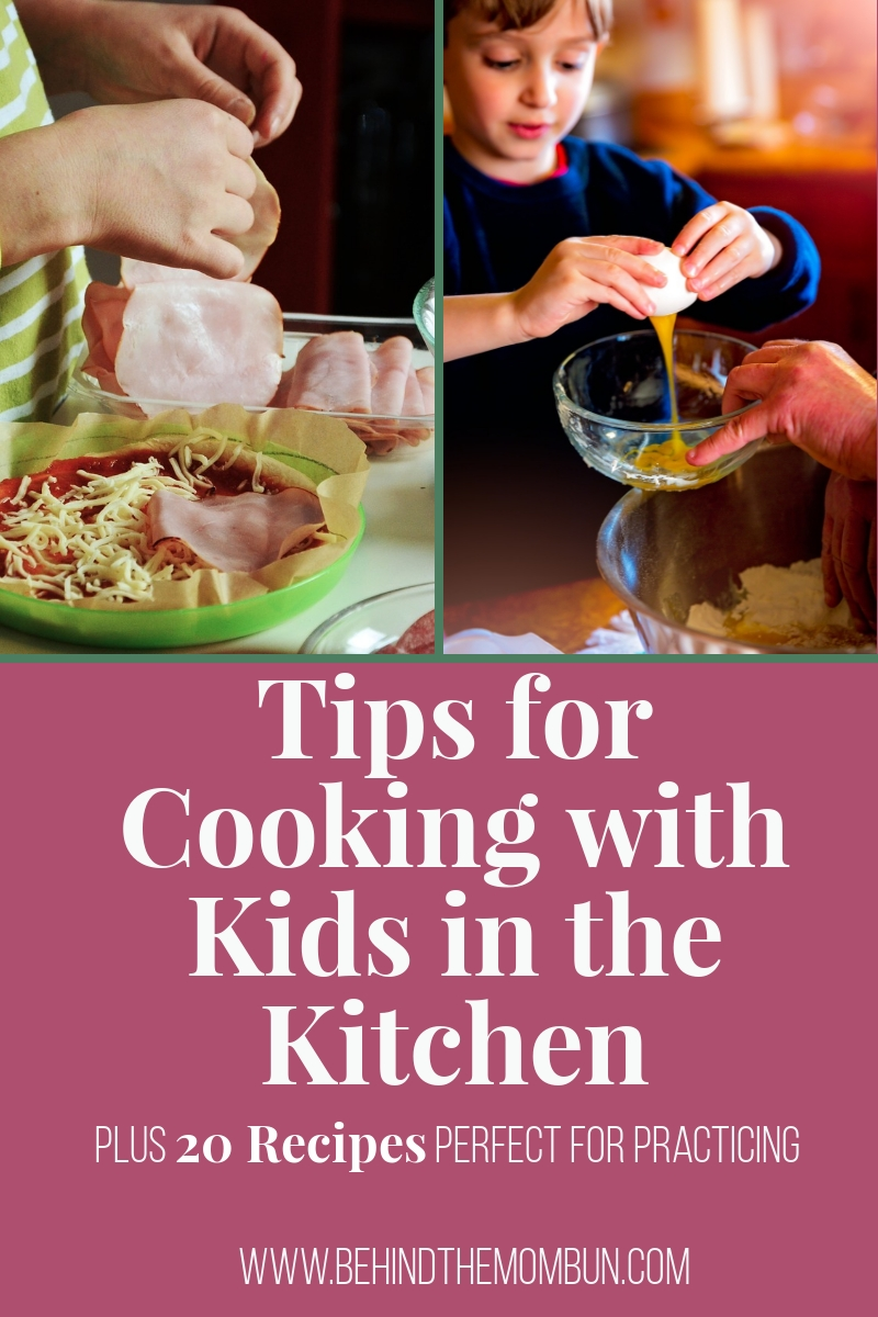 tips for cooking with kids in the kitchen