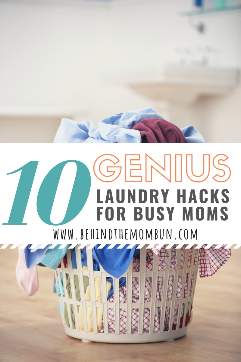 Busy Mom Laundry Hacks to Simplify Your Life