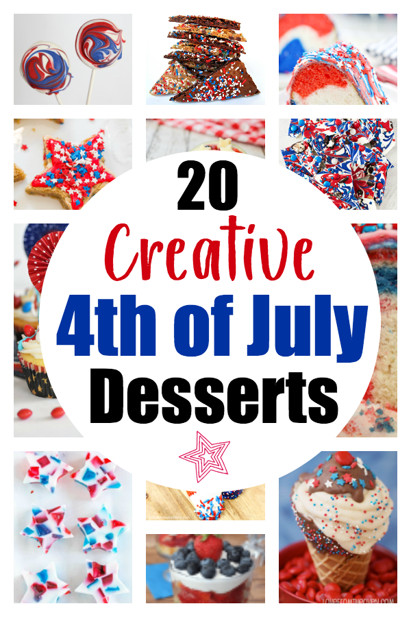 20 Totally Creative Patriotic Desserts