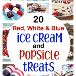 20 Red, White & Blue Popsicle & Ice Cream Treats