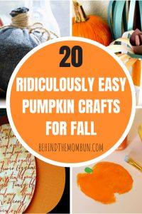 20 Easy Pumpkin Crafts for Preschool