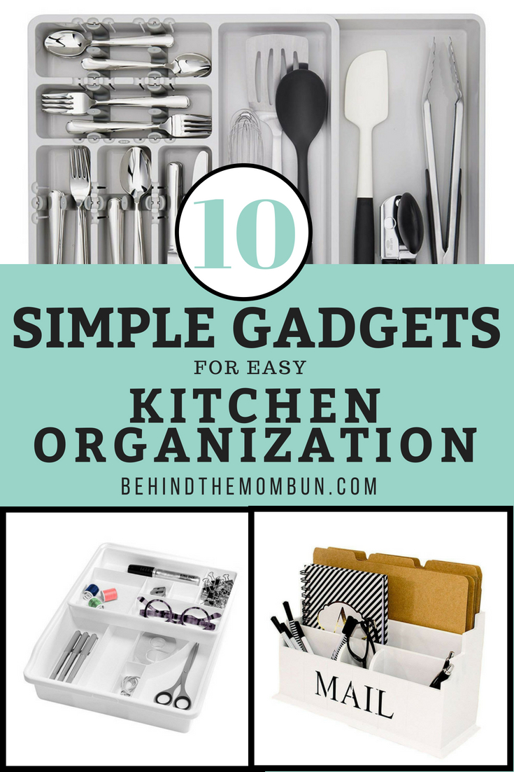 10 Simple Gadgets for Easy Kitchen Organization