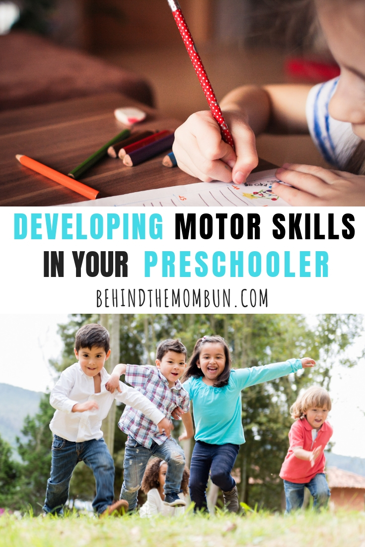 Developing Motor Skills in Your Preschooler