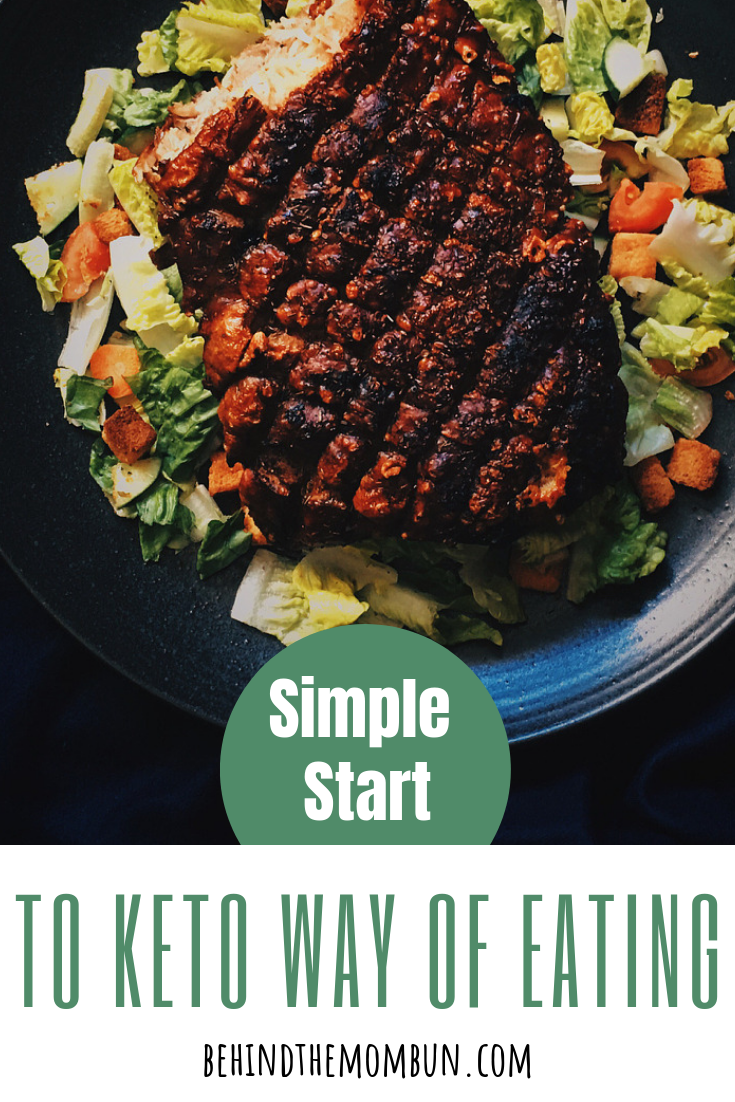 simple start to keto way of eating