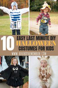 Easy DIY Halloween Costume Ideas for Kids