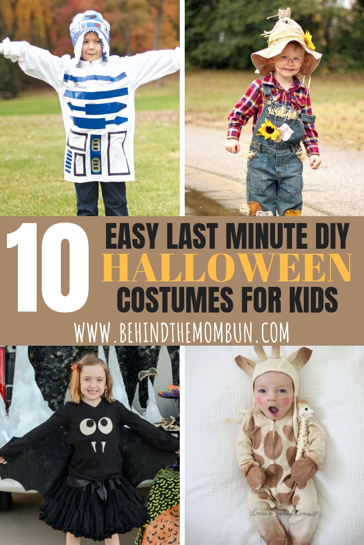 Easy DIY Halloween Costume Ideas for Kids