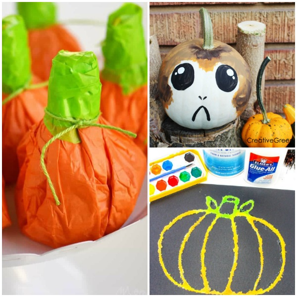 14 Creative Halloween Pumpkin Crafts
