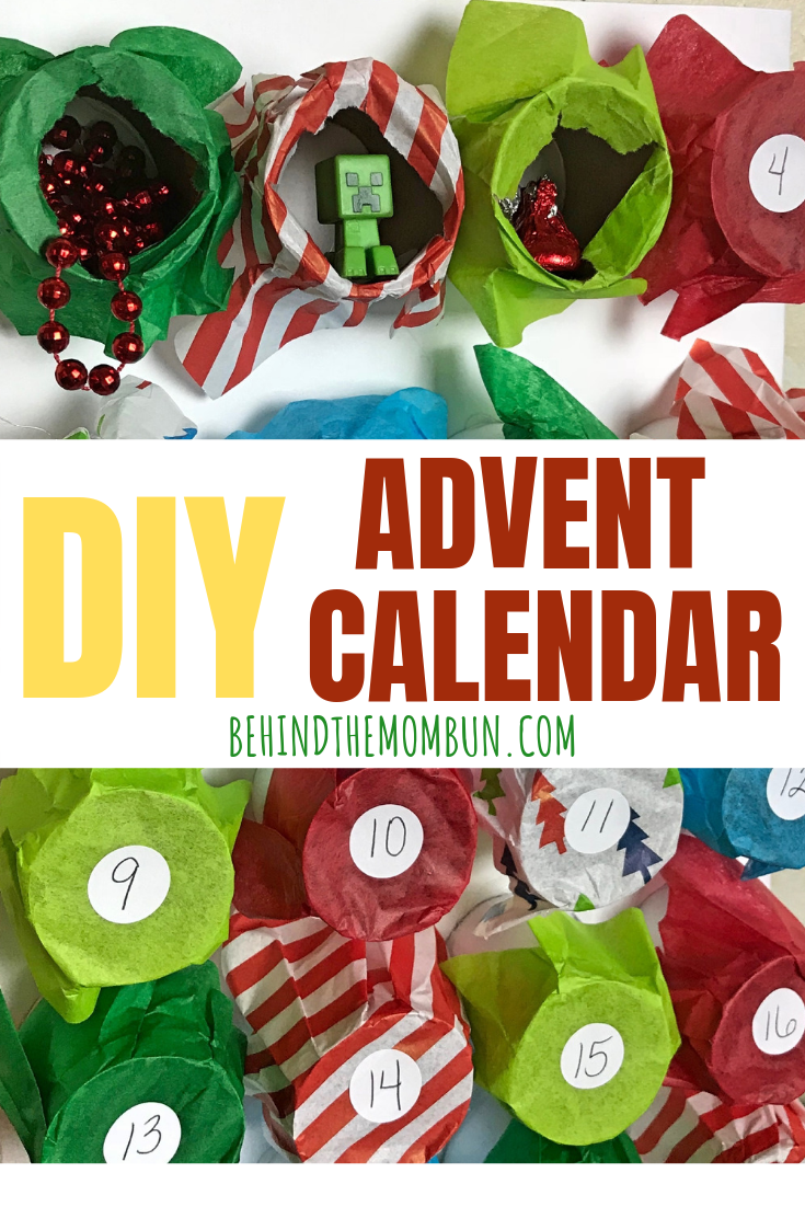 DIY Advent Calendar for Christmas
