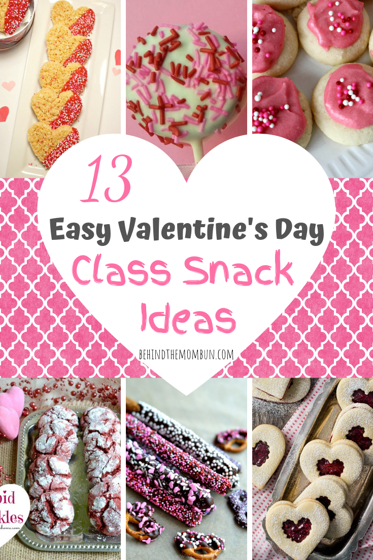 13 super easy valentine's day snacks