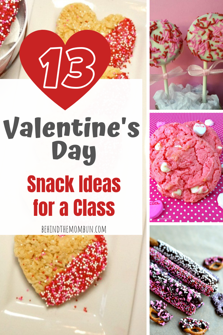 13 valentine's day snack ideas