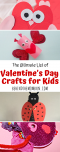 ULTIMATE LIST OF VALENTINES DAY CRAFTS FOR KIDS