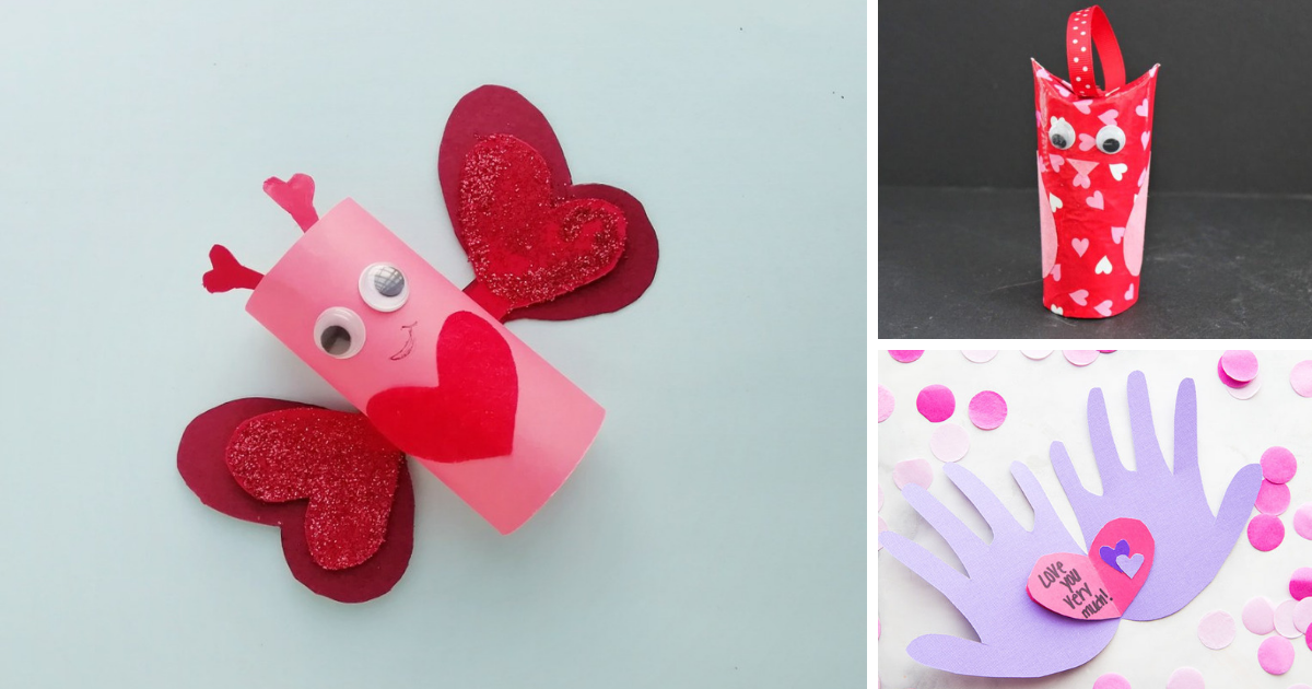 23 Easy Valentine's Day Crafts for Kids