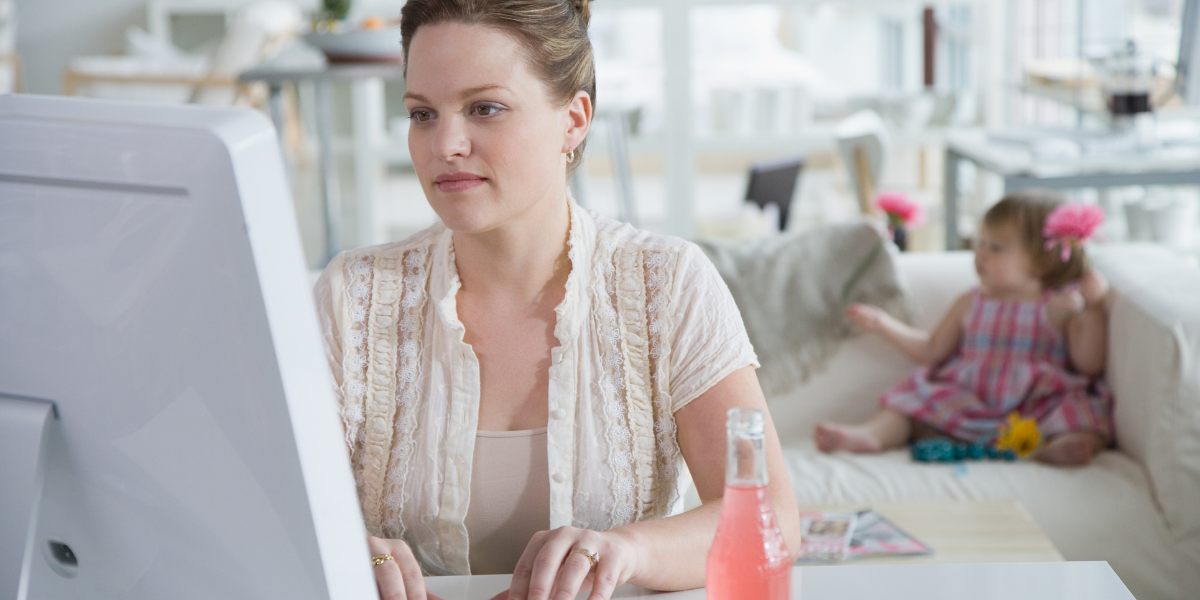How to be a Work from Home Mom AND Not Lose Your Sanity