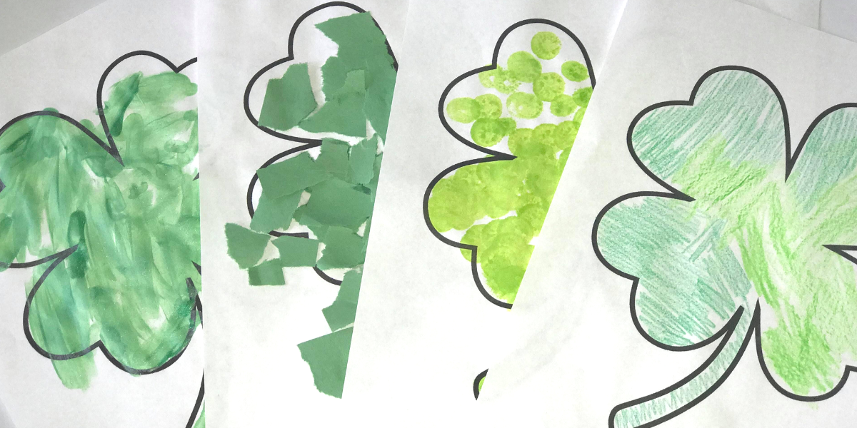 7 Four-Leaf Clover Activities with ONE Free Printable