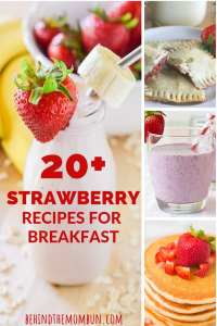 more than 20 strawberry breakfast recipes