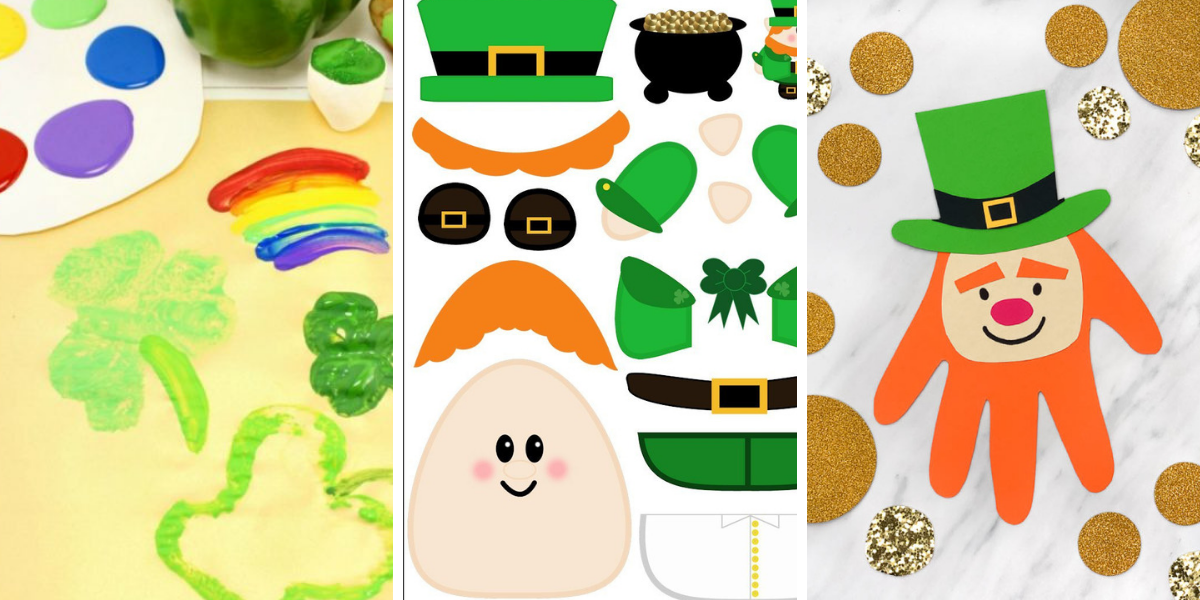 11 Easy St Patrick's Day Crafts for Kids
