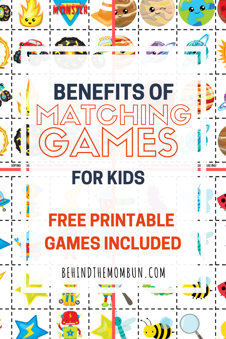 benefits of matching games for kids