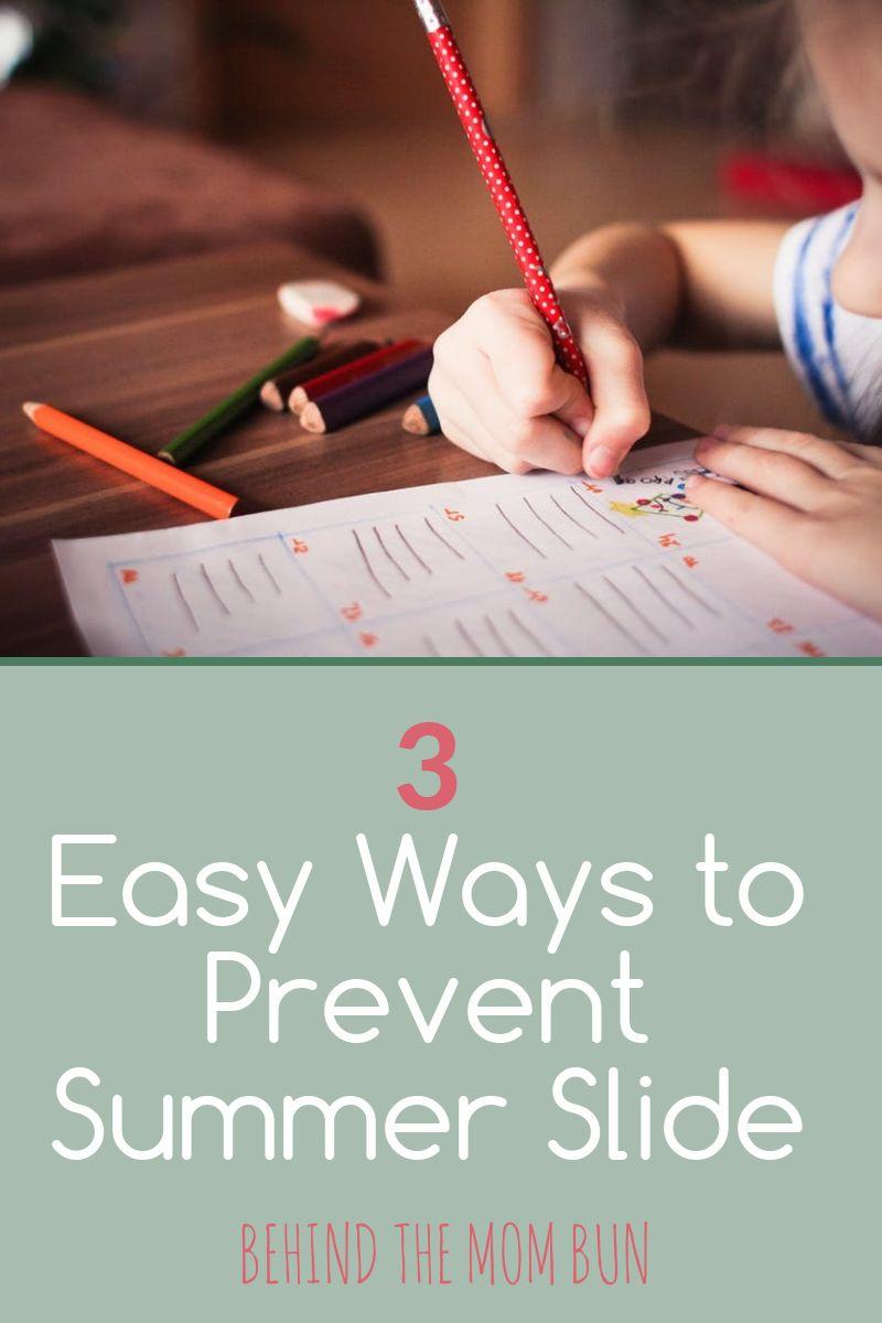 easy ways to prevent summer slide