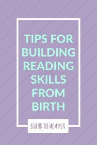 tips for building reading skills from birthday
