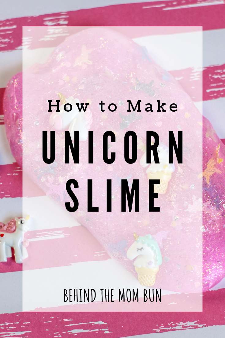 How to make slime-unicorn edition
