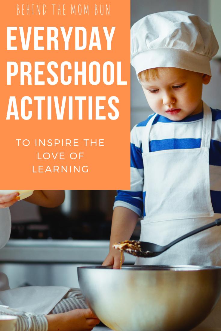 every day preschool activities