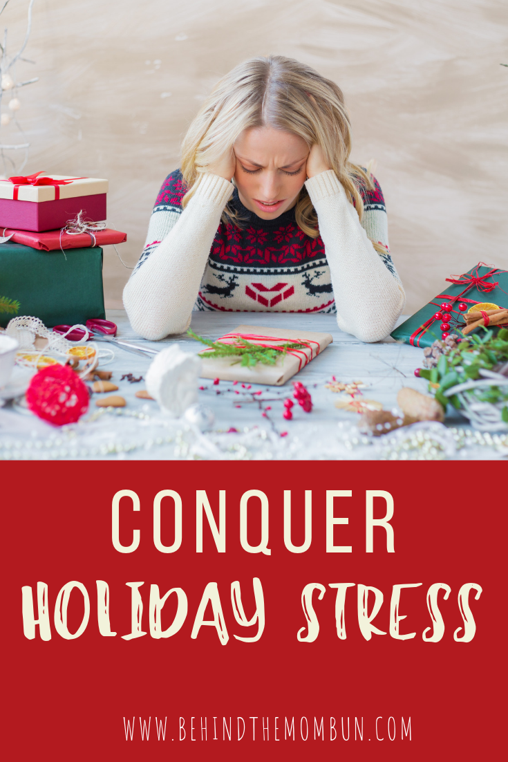 conquer holiday stress