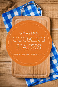 amazing cooking hacks-behind the mom bun-hacks