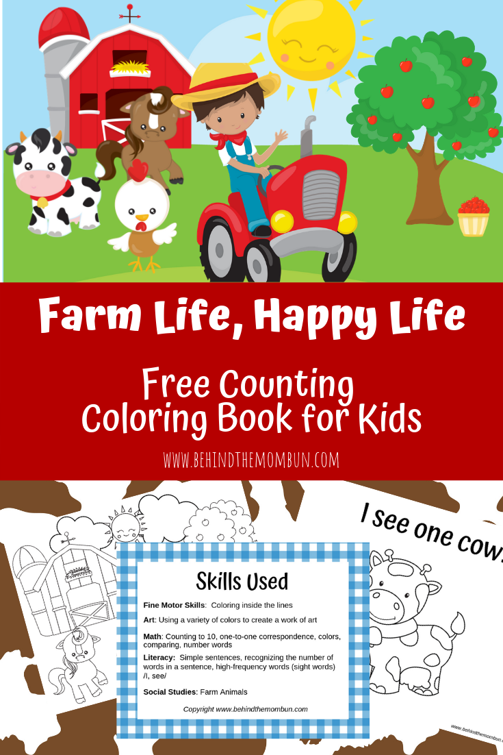 Counting-Coloring-Books-for-Kids-Behind-the-Mom-Bun-Farm-Coloring-Pages-
