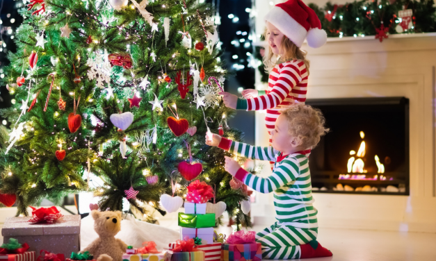 Christmas Tree Safety Tip for New Moms