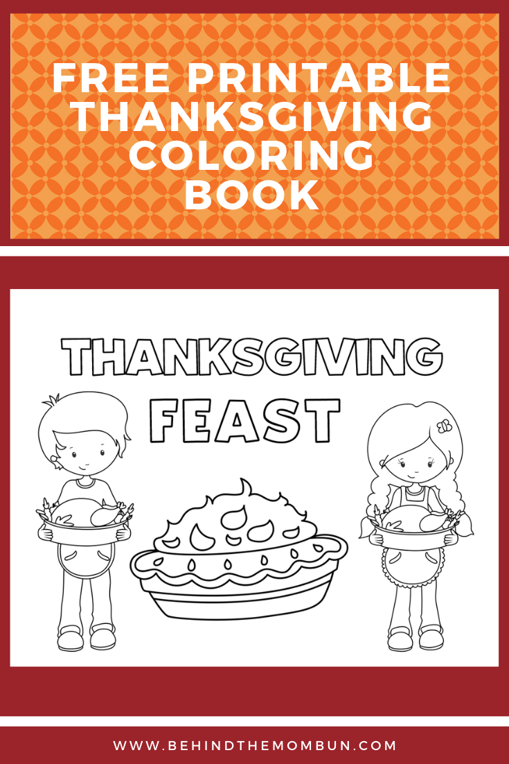 thanksgiving coloring book-free thanksgiving coloring book-free printables-behind the mom bun