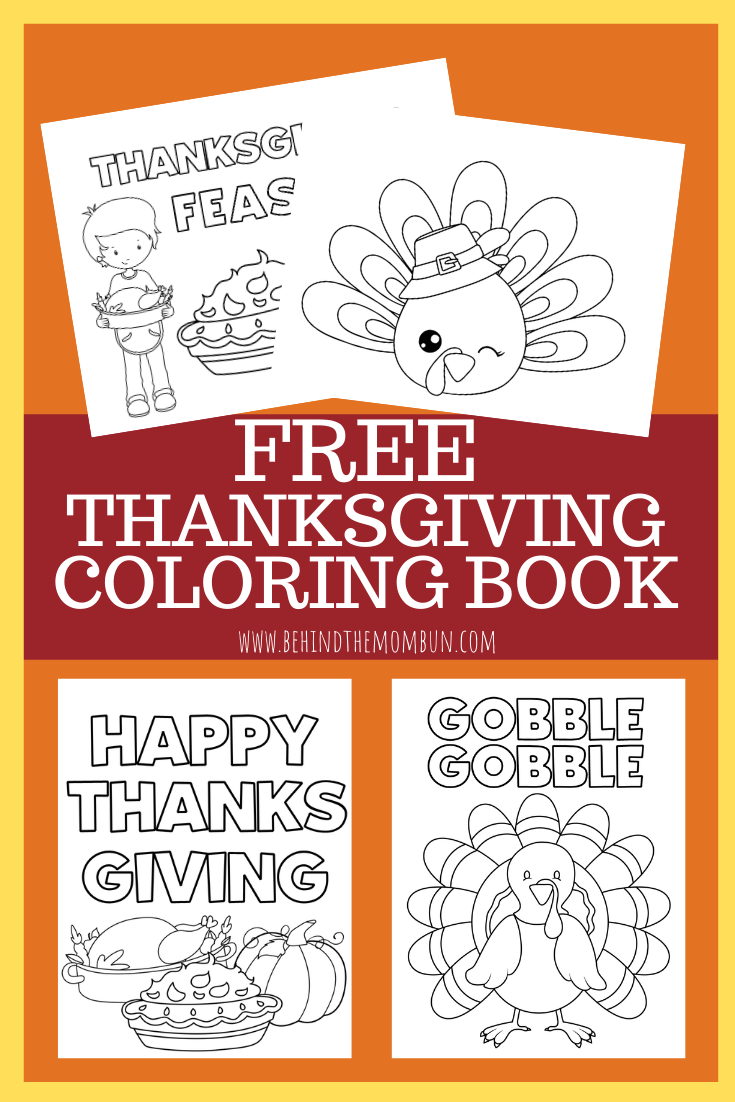 free thanksgiving coloring book-thanksgiving coloring book-free printables-behind the mom bun