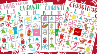 Fun Christmas Printable Bingo Game