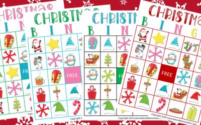 Fun Christmas Printable Bingo Game