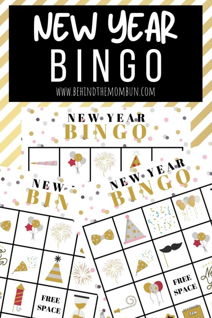 new year bingo games for kids