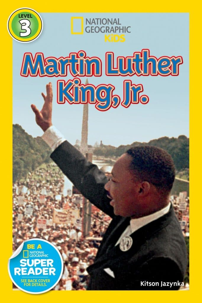 National Geographic Readers: Martin Luther King Jr. book cover