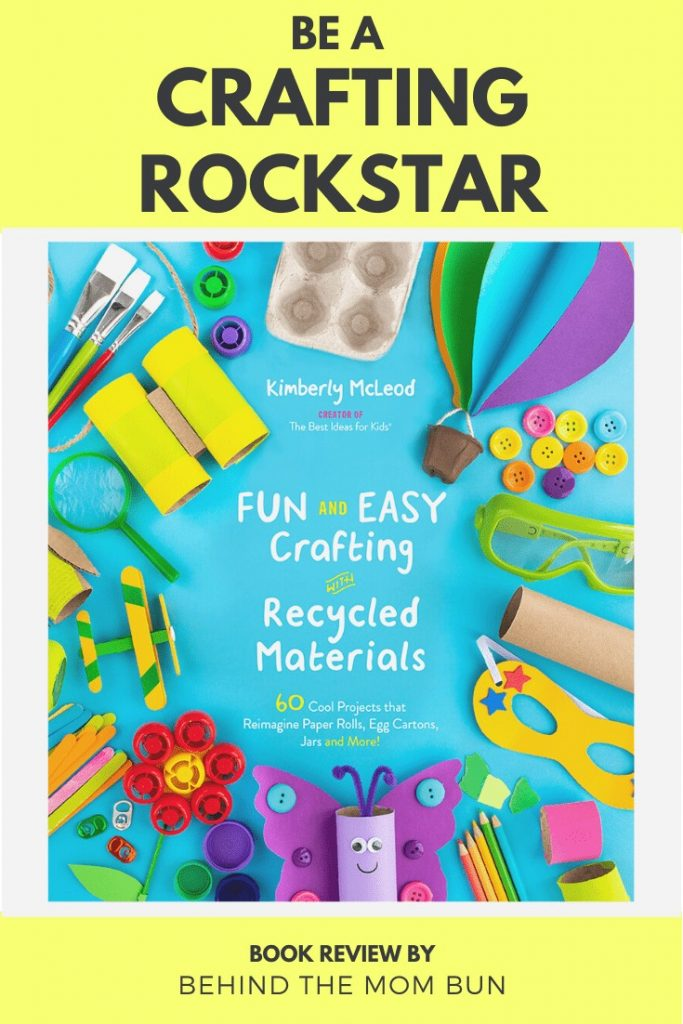 front cover of fun and easy crafting with recycled materials
