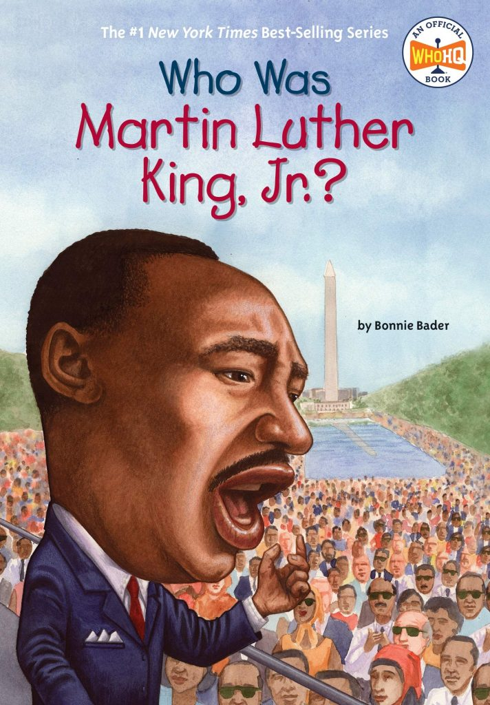who was martin luther king jr book cover