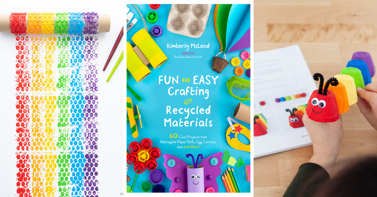 Book Review: Fun and Easy Crafting with Recycled Materials
