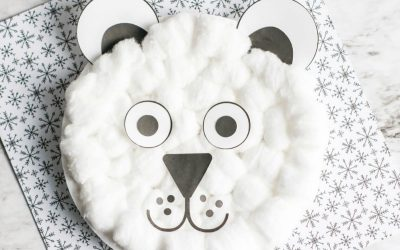 Easy Polar Bear Craft for Preschool