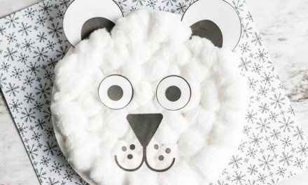 Easy Polar Bear Craft for Preschool