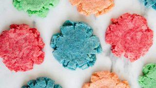 Jello Cookies and Playdough