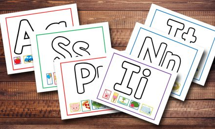 Alphabet Playdough Mats Free Printable