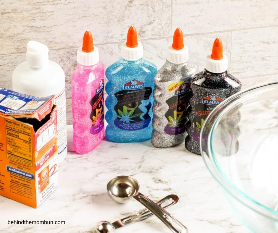 ingredients to make galaxy slime