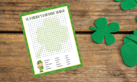 Free St. Patrick's Day Word Search