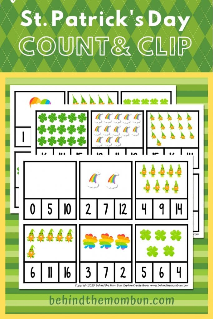 count and clip counting activity